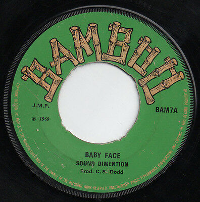 BABY FACE - SOUND DIMENTION - BAMBOO - Early reggae