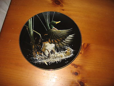"Tommy Humphrey  8"" Collector Plate, Rising Mallard"