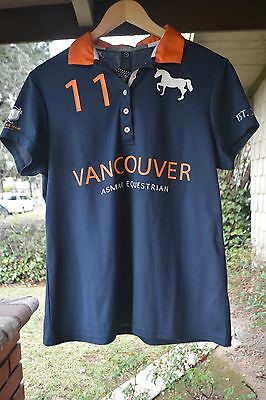 NWT Noel Asmar Equestrian Limited Edition Continental Polo Vancouver Size Medium