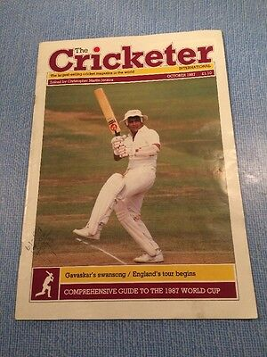 The Cricketer. October 1987.