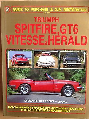 Triumph Spitfire, Gt6, Vitesse & Herald: Guide To Purchase & D.i.y. Restoration