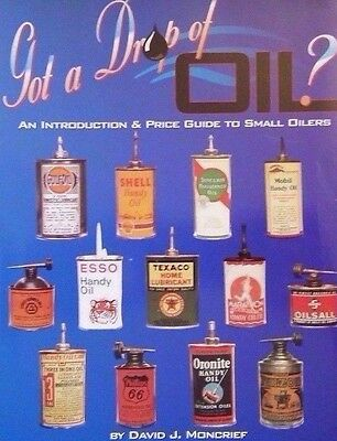 Vintage Miniature Metal Oil Can Value Guide Collector's Reference Book