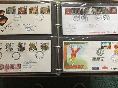 FDC Album With 72 Fdc Covers 1970-2001