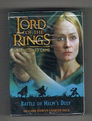 the Lord of the Ring , trading card game , Éowyn sealed starter deck