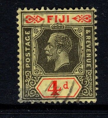 Fiji -  SG235 4d black/red/yellow  - used