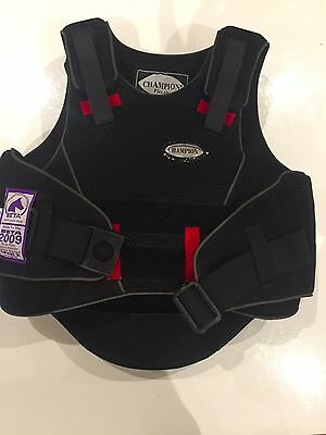 Champion Flexair body protector child small - excellent condition hardly worn