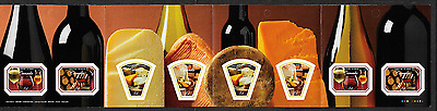 Canada Stamps -Booklet Pane of 8 -Canadian Wine & Cheese #2171a (BK333) -MNH