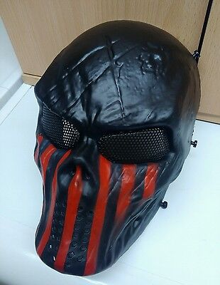 Masque paintball/airsoft AMERICAN soldier custom