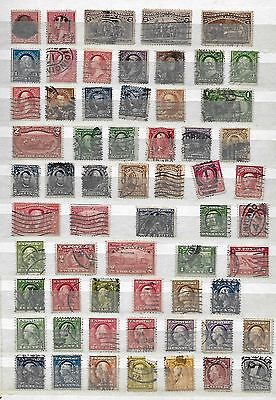 UA - Lot -- very fine collection of used stamps with many valuable issues