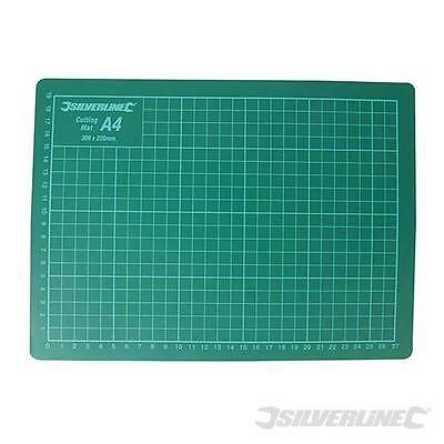 A2 A3 or A4 Cutting Mat Non Slip Printed Grid Lines Knife Board Crafts