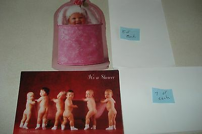 Anne Geddes Baby Shower Cards from 1980's NEW