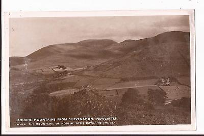 Mourne Mountains from Slievenamon, Newcastle,County Down, Postcard