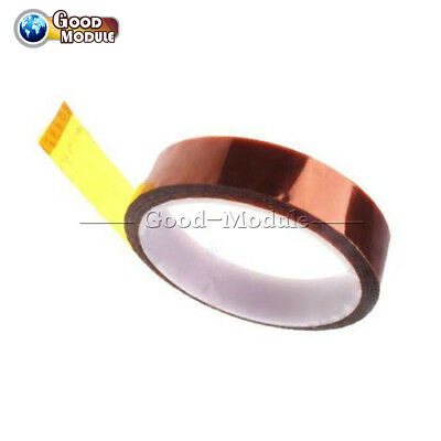 25mm x 30M Kapton Tape Sticky High Temperature Heat Resistant Polyimide