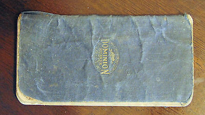 Early 1919 1920 Log Book Dominion Rubber Company Gasoline Repairs Book Canadian