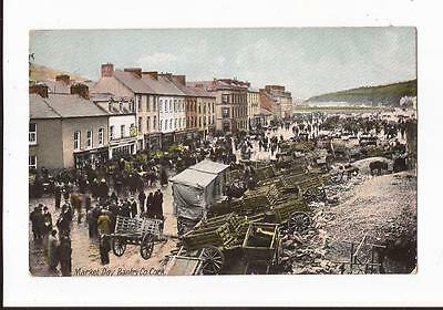 Market Day,Bantry,Co.Cork Postcard
