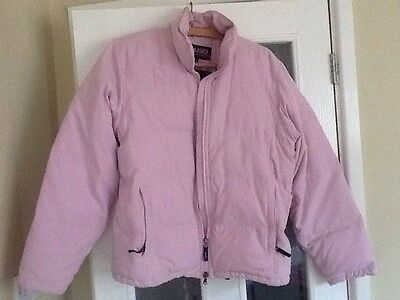 Women's Pale Pink MUSTO Performance Quilted Bodywarmer Size 14 Lovely