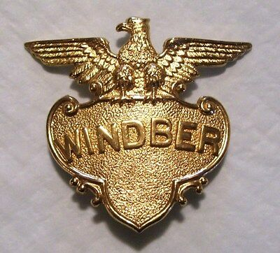 Pennsylvania Fire Police Badge Obsolete Windber Pa #1