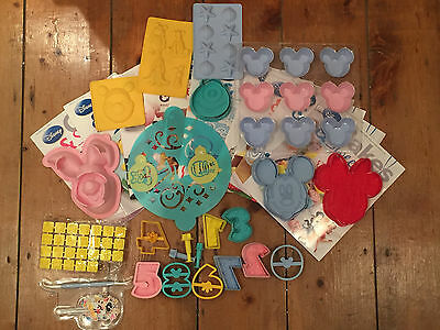Disney Cake & Sweets Magazines and Accessories Mickey Minnie Mouse Winnie Pooh