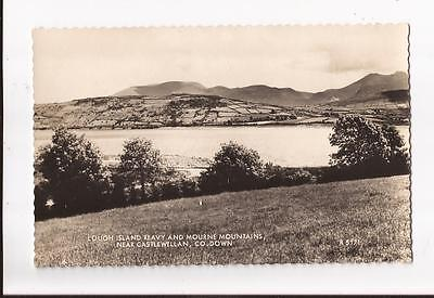 Lough Island Reavy and Mourne Mountains,near Castlewellan, Co.Down Postcard
