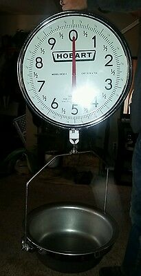 HOBART Produce Hanging Scale PR30-1 Double Sided Dial 30 lbs Capacity #3.