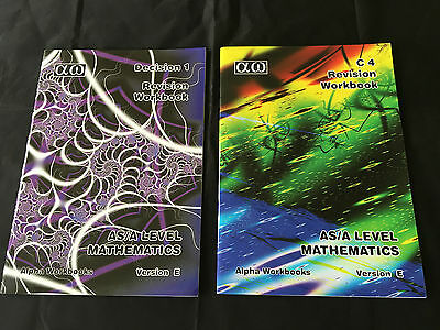 Revision Workbooks for C4 and Decision 1 AS/A Level Maths Alpha Workbooks