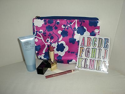 NEW Estee Lauder make up bag with make up and make up remover