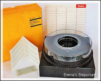 KODAK Carousel Dia-Magazin Typ 2 Tray for use with Slide Pojector