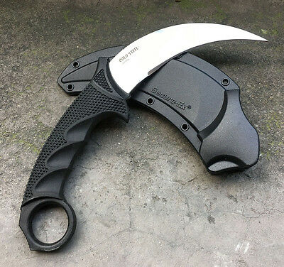 NEU Cold Steel Steel Tiger Camping Survival Hunting Karambit Claw Knife Messer