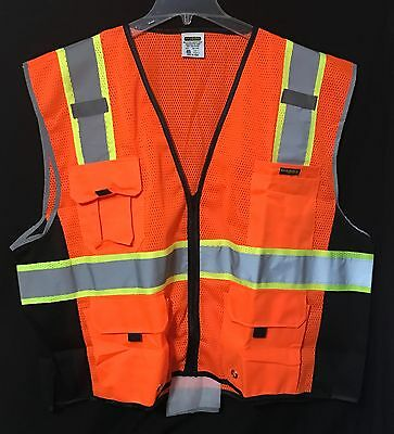 NEW KwikSafety Class 2 High Visibility Safety Vest Size 4XL/5XL