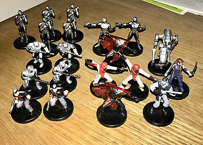 Star Wars Miniatures 20 x LOT of SITH Sith Army
