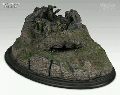 Sideshow Weta Weathertop Polystone Environment Lord of the Rings Wetterspitze