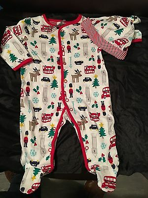 Branded Baby Clothes , Baby Grow / Sleep Suit 0-3 Months & Matching Bonnet .