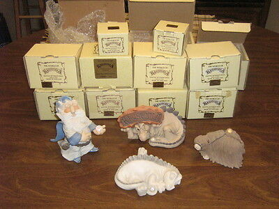 Krystonia Collectible Figurines plus Books