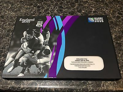 Rugby Memorabilia 2015 Rugby World Cup Opening Match Ticket