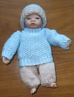 Hand Knitted  Dolls   Outfit For 10Inch  Doll Emmy