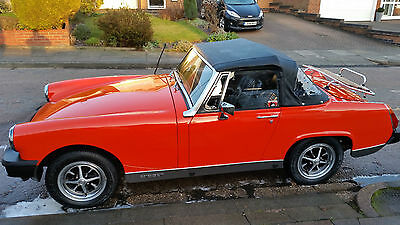 1979 Mg Midget 1500 Red
