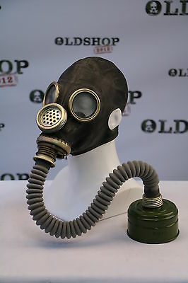 Gas Mask GP-5M with filter and hose Black Soviet Russian  ALL SIZES COOL FUNY