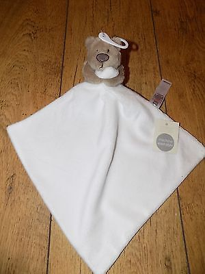 George Supersoft Bear Comforter Soother Doudou BNWT