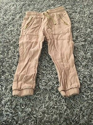 H&m Baby Girl Trousers 18-24 Months!!