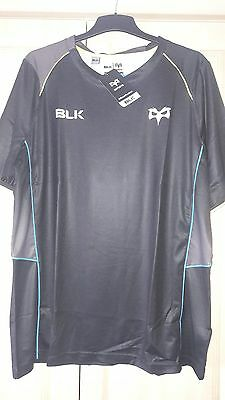 NEW BLK Ospreys Rugby Training T-Shirt - 3XL WITH TAGS