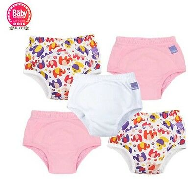 Bambino Mio Miosoft Reusable Training Pants for Girls 5 Pack Size 18-24 Months