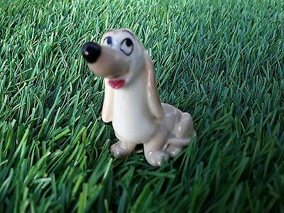 Vintage WADE Disneys Dachie & bloodhound from Lady & the tramp