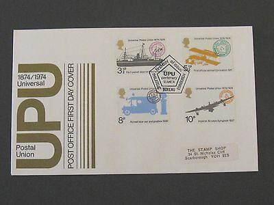 First Day Cover – UPU Universal 1874 - 1974