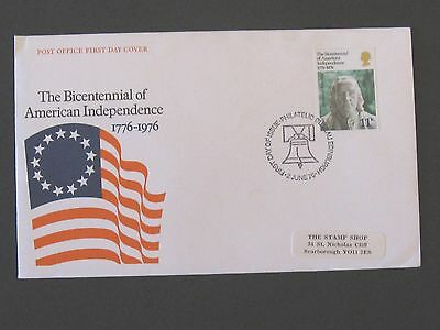 First Day Cover – The Bicentennial of American Independence 1776 - 1976
