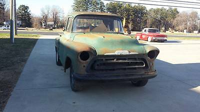 1957 Chevrolet Other Pickups  1957 chevy pickup truck hot rod rat project custom 55 56 57 patina 3100