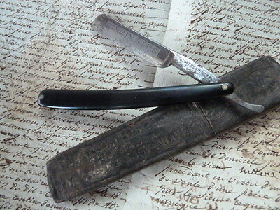 Early 1900's Antique Gouttequillet Cut Throat Razor for Restoration