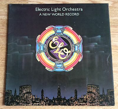 Electric Light Orchestra - A New World Record (UK Vinyl LP) Ex Vinyl