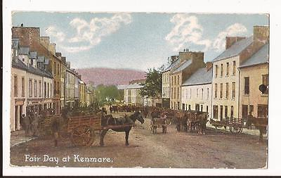 Fair Day at Kenmare, County Kerry Postcard