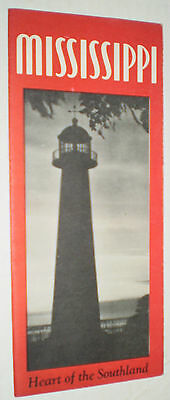 Mississippi Heart of the Southland Brochure – Circa 1940s