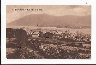 Warrenpoint from Bridle Road, County Down Postcard